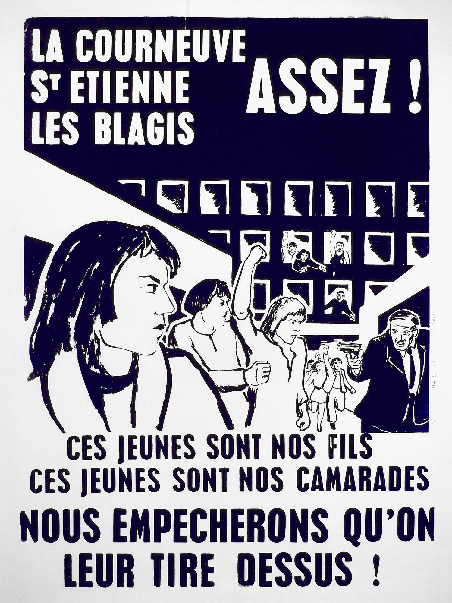 jeunes affiche vincennes 1973 2000